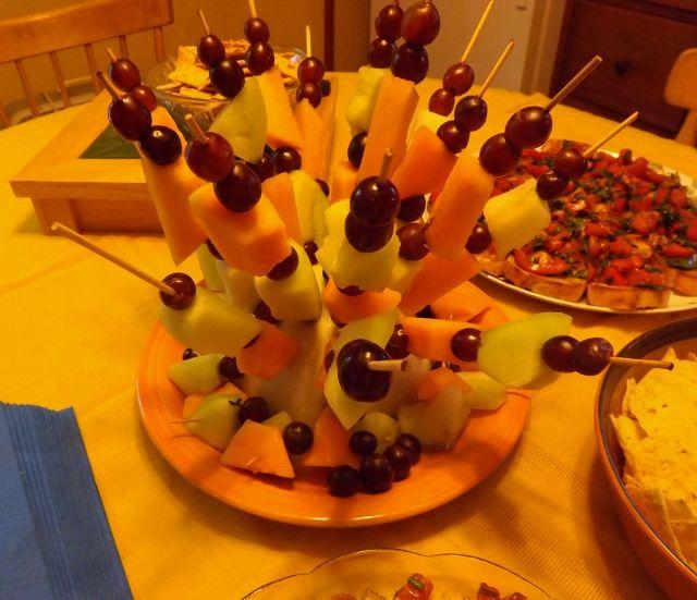 Themed Cocktail Party Ideas Part - 40: Rastafari Fruit Salad For A Caribbean- Themed Cocktail Party - News -  Bubblews