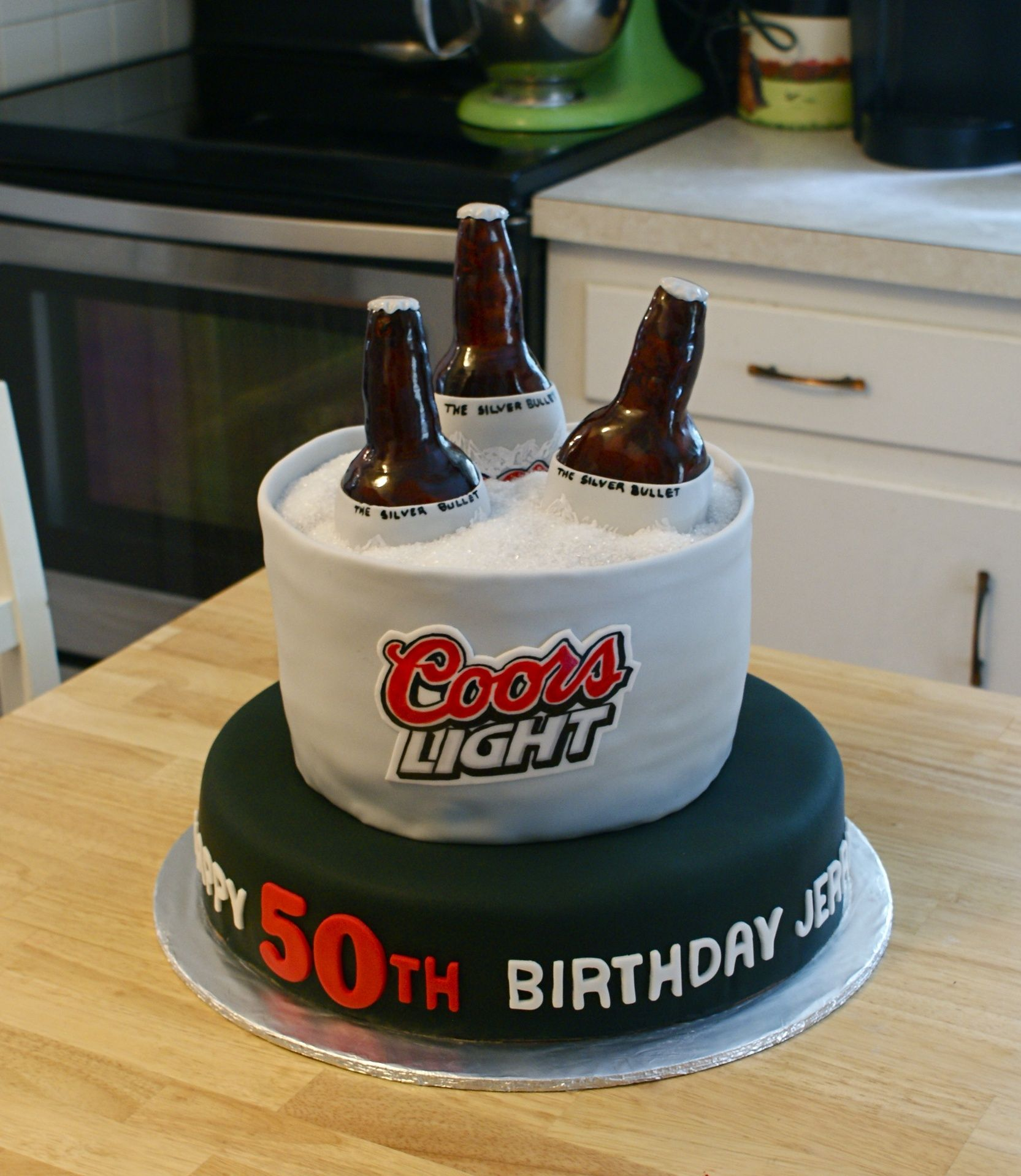 Coors Light Beer Cake   Cakes By Meg