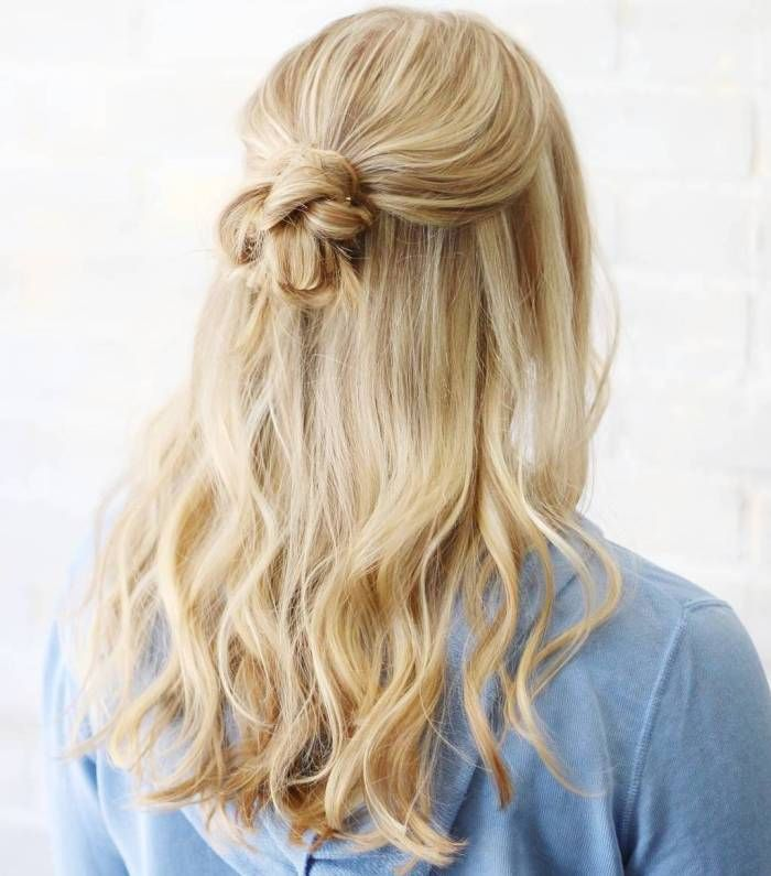 31 Amazing Half Up Half Down Hairstyles For Long Hair: 50 Half Updos For Your Perfect Everyday And Party Looks