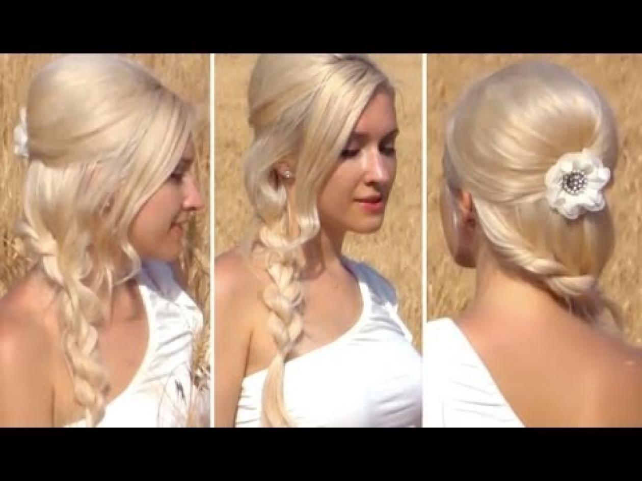 Side braid hair u nails pinterest shoulder length hair