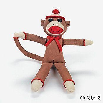Color Your Own Monkeys - Oriental Trading blanks $20.50 per dozen.