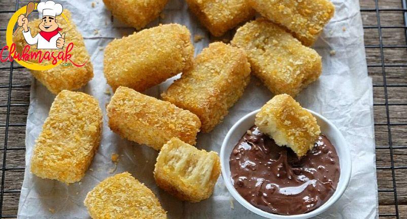Resep Nugget Pisang Cokelat Renyah Dan Enak Resep Nugget Pisang Makanan Resep Pisang