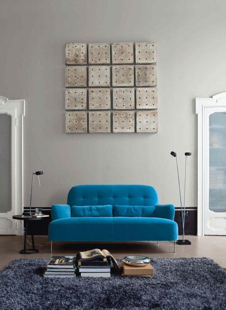 Ligne roset 1 luxury living roomscolorful