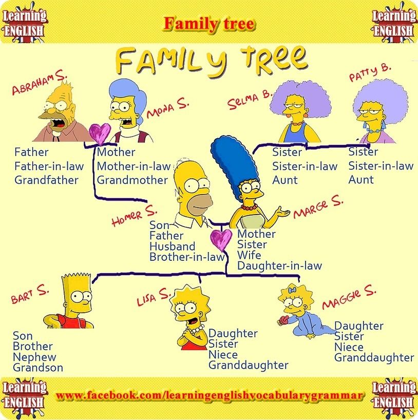 Learn English with Free English Lessons related to Family ...