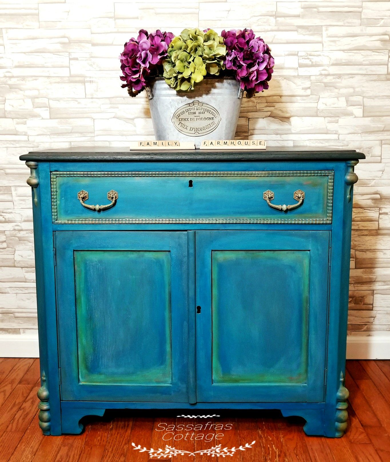 Wise Owl Paint Nebula Turquoise Blended Gilderspaste Primitive Wise Owl Paint Nebula Painting Turquoise Painted Furniture
