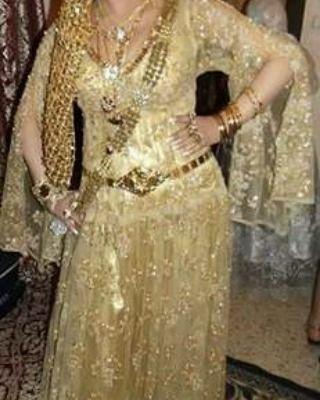 Robe Naili Algérienne #algeriantraditionaldresses #Algé ...