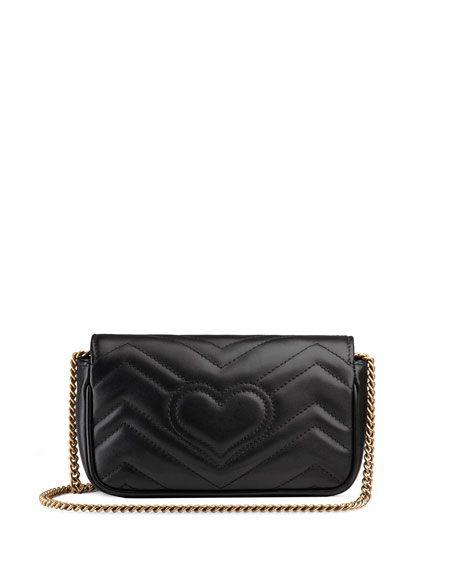 b0fd86dae9a9 GG Marmont Matelasse Leather Super Mini Bag | Fashion Blogger Outfit ...