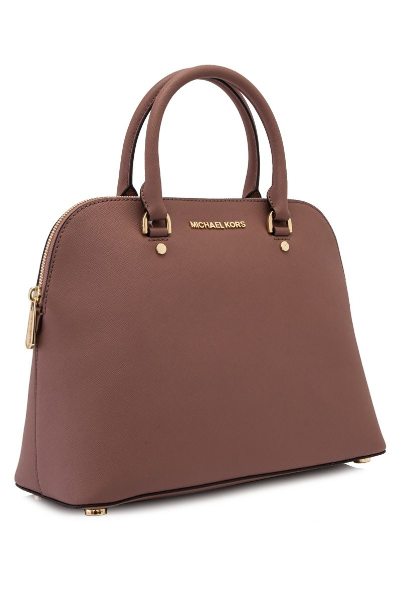 0e21149340e4 MYR 1,110 MICHAEL Michael Kors Cindy Large Dome Satchel Dusty Rose  (Designer Colour) - MICHAEL KORS