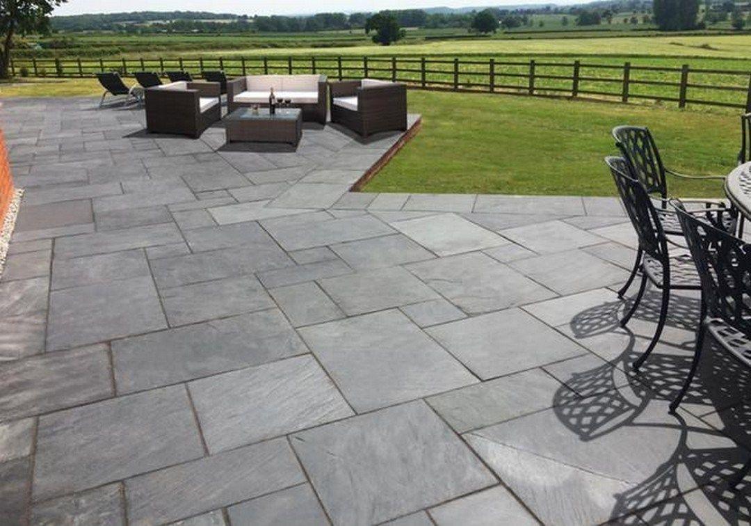 Amazing DIY Slate Patio Design And Ideas (46 | Slate patio ... on Slate Patio Ideas id=61503