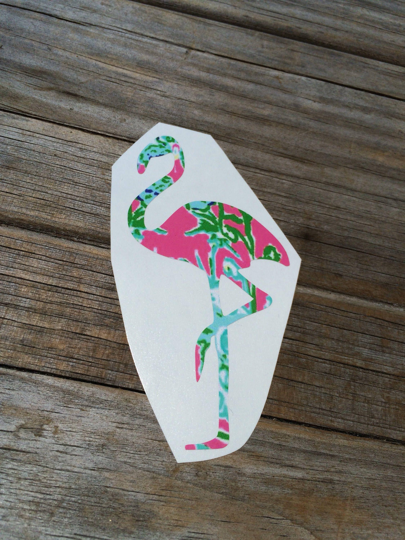 Lilly Pulitzer Flamingo Vinyl Decal Vinyl Stickers Laptop Etsy Vinyl Car Stickers Vinyl Stickers Laptop Cars Birthday Party Disney [ 3000 x 2250 Pixel ]