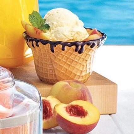 Recipes Cuisinart Peach Ice Cream Peach Ice Cream Ice Cream Maker Recipes Cuisinart Peach Ice Cream Recipe