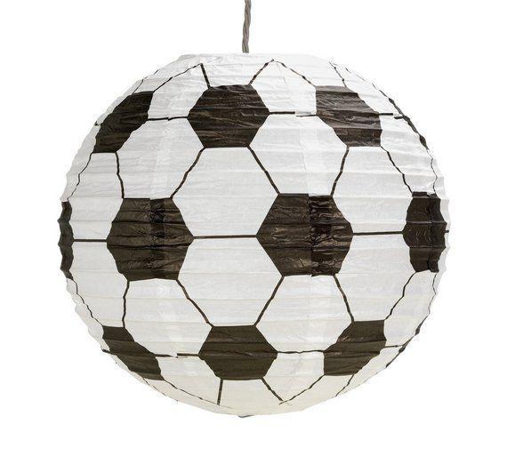 Buy home football paper light shade at argos visit argos buy home football paper light shade at argos visit argos aloadofball Images