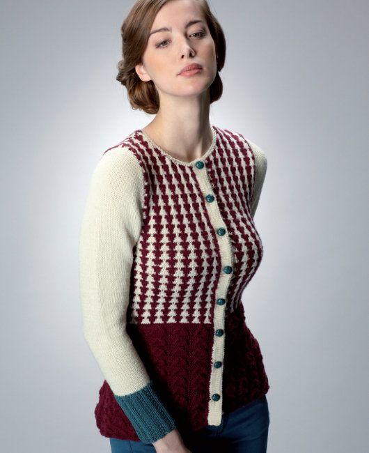 Free Knitting Pattern Between The Wars By Katie Agar In Rowan Wool