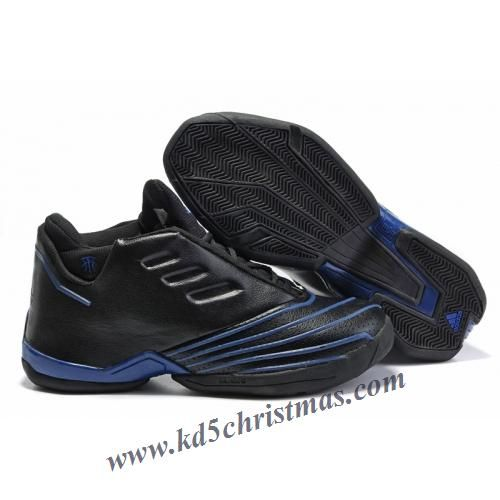 brand new c145a 69ef5 Adidas T-Mac 2 Tracy McGrady Shoes Black Blue All Black Sneakers, Air Max