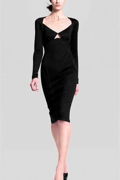 Minimalism fashion design by Donna Karen Fall Winter 2013/2014