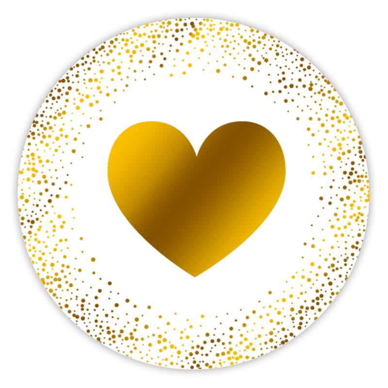 Aufkleber Herz Hotfoil Miomodode Shop Hochzeit