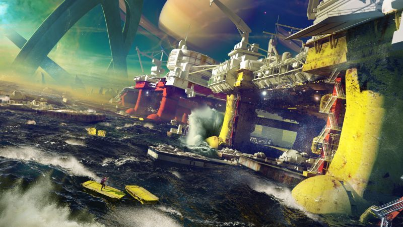 Destiny 2 Concept Art 4k Concept Art World Concept Art Art