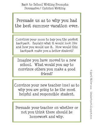Narrative essay on returning to school