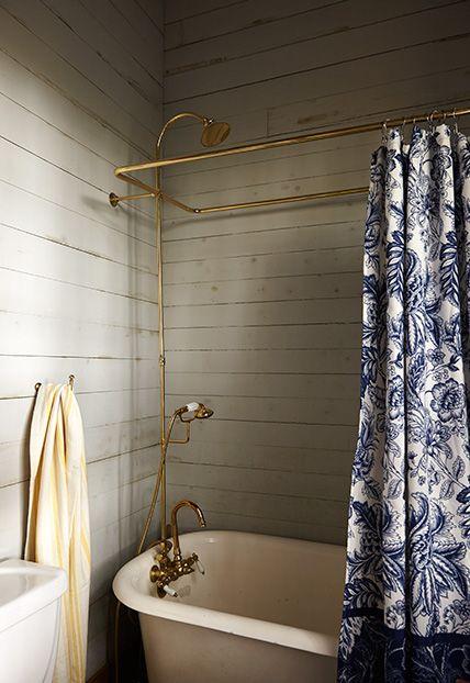 Enkelt med vackert badrum