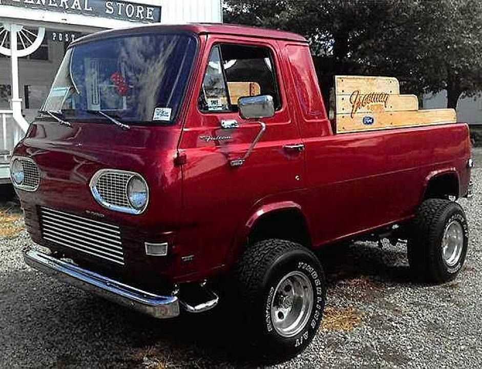 1961 Ford Econoline Pick Up On 1961 Econoline Truck Wiring Diagrams