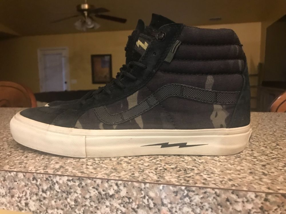 064ab8d578e5 VANS DEFCON Syndicate Sk8-Hi Notchback Pro Multicam Black size 9.0  fashion   clothing  shoes  accessories  mensshoes  athleticshoes (ebay link)