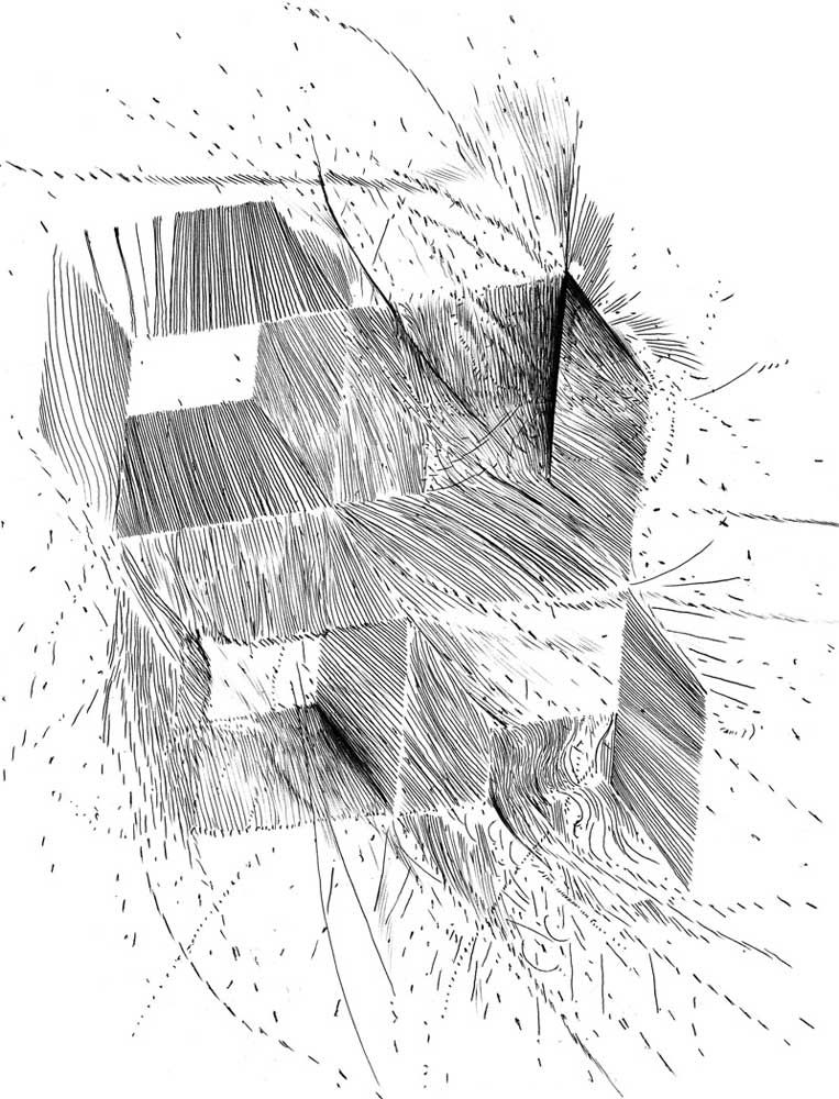 Andy gilmore abstract artwork art drawings