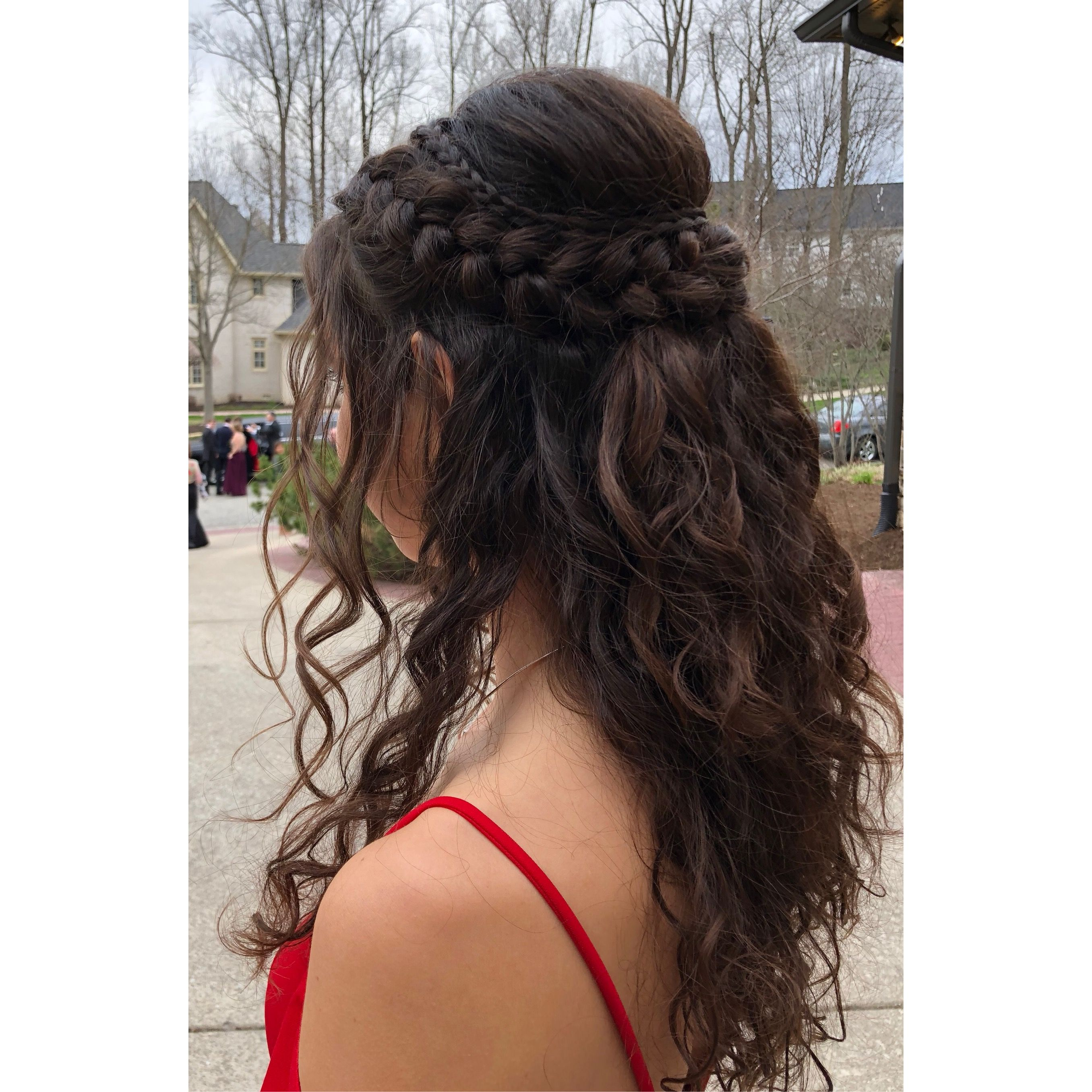Prom Hair For Natural Curls Curly Hair Styles Prom Hair Natural Curls