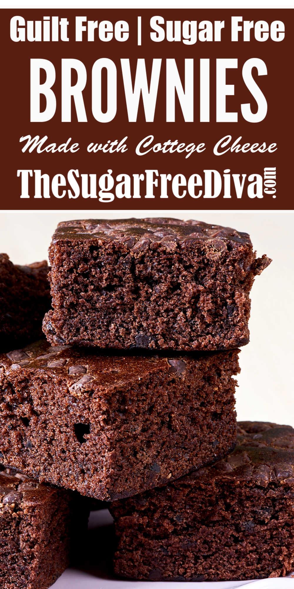 Guiltless Sugar Free Brownies - THE SUGAR FREE DIV