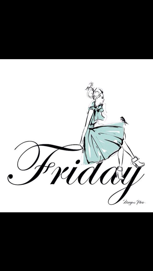 Happy Friday! Megan Hess Illustration