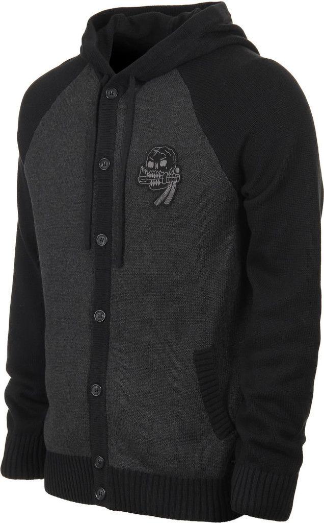 RVCA Bone Sweater black