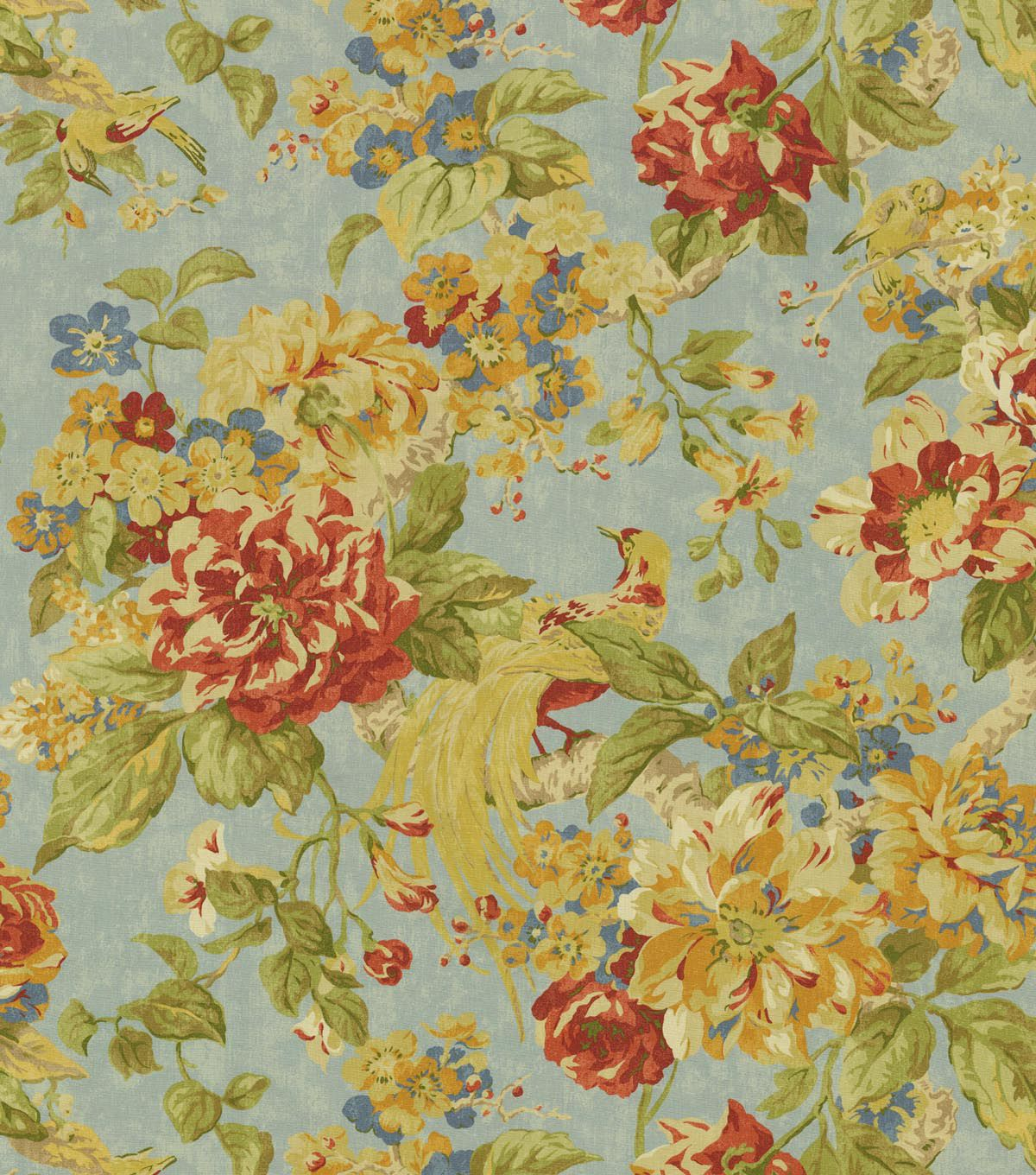 Waverly Upholstery Fabric 54 Floral Engagement Woodland My Next