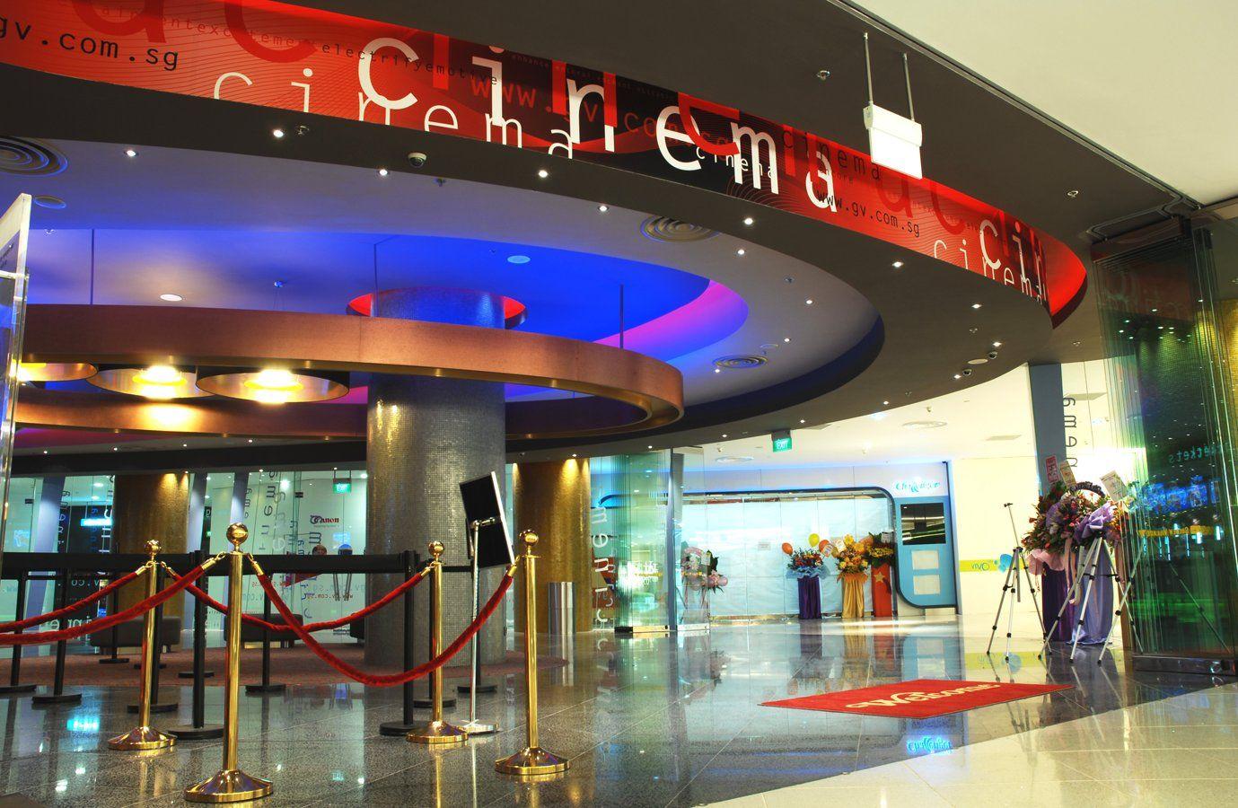 Village Cinema Vivo City Singapore foyer entrance エントランス
