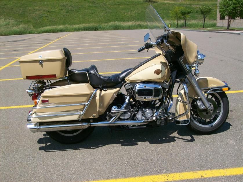 1982 Flh Harley Davidson Full Dresser