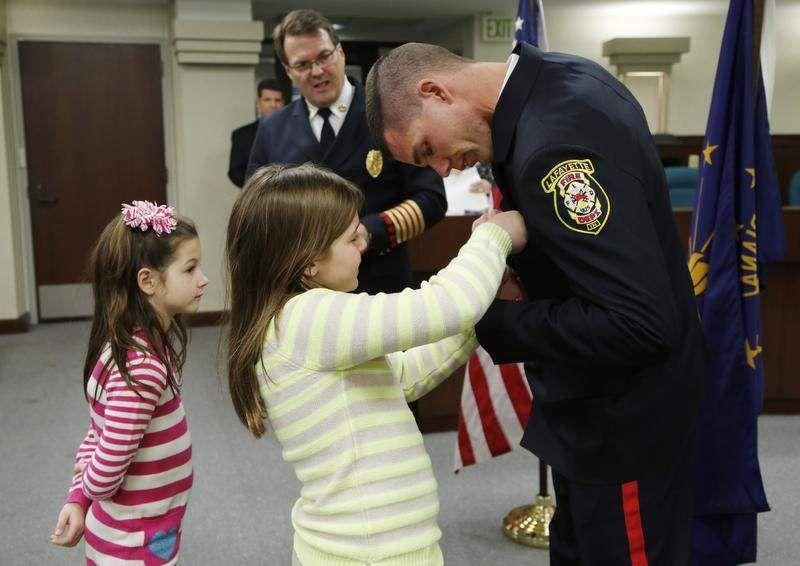 2 earn Lafayette Fire Department promotions