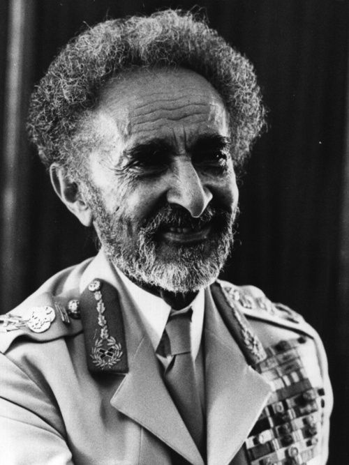 His Majesty Haile Selassie I, Conquering Lion of the Tribe of Judah, King of Kings (Emperor) of Ethiopia, Elect of God    http://empresscoolie.tumblr.com