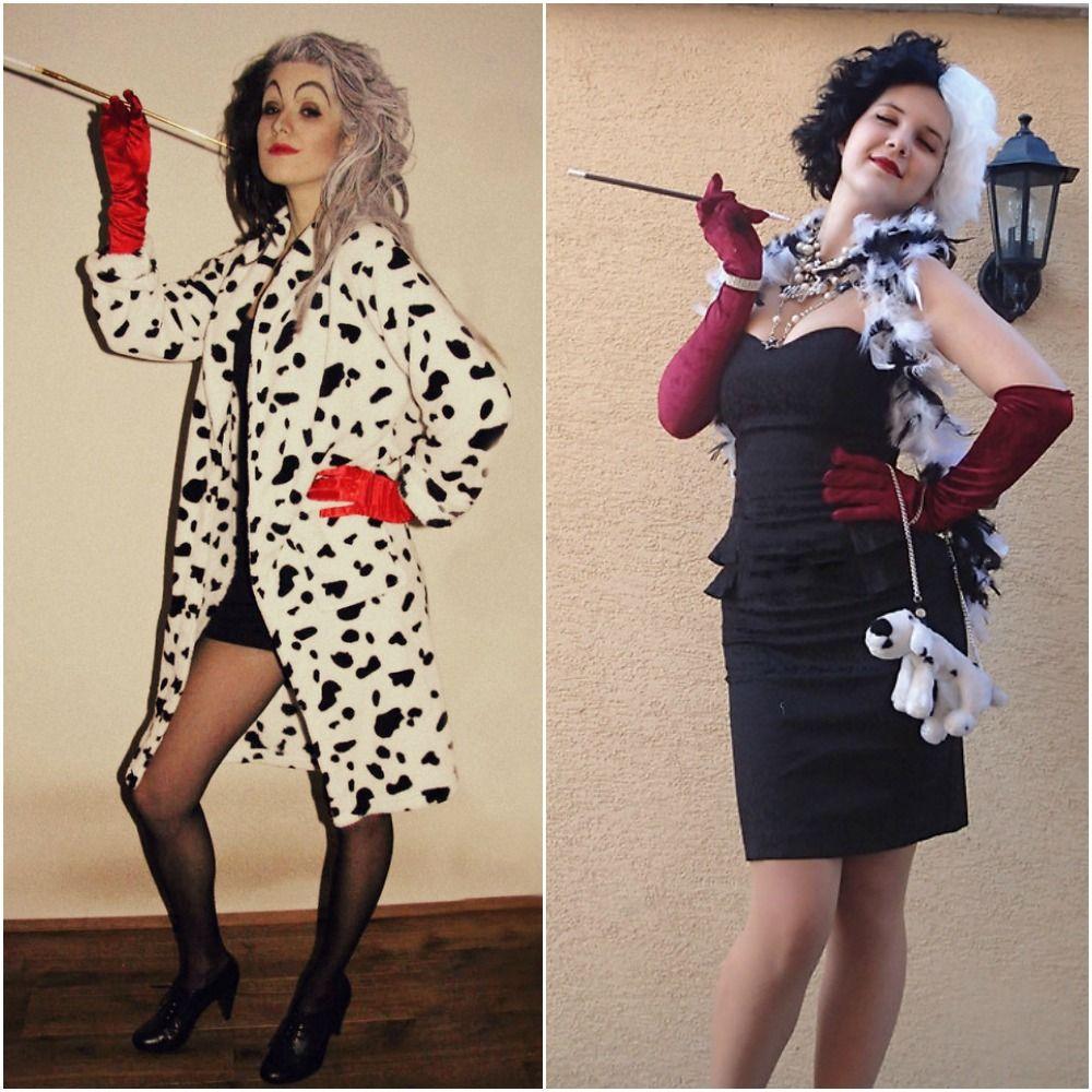 cruella de vil 101 dalmations fancy dress disney outfit ideas halloween costumes 2014 - Cruella Deville Halloween Costume Ideas