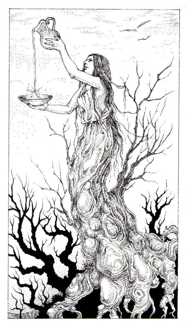 Tarot - 14 Temperance by zsofiadome.deviantart.com on ...