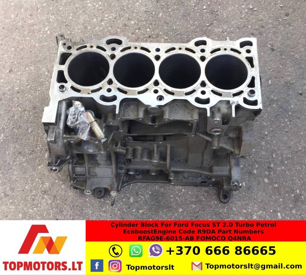 Cylinder Block For Ford Focus St 2 0 Turbo Petrol Ecoboost Engine