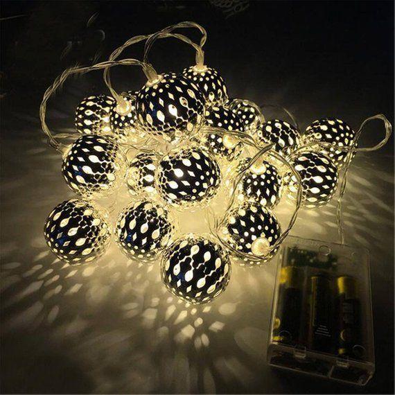 Christmas Lights Lantern Hanging Holiday Fairy String Light