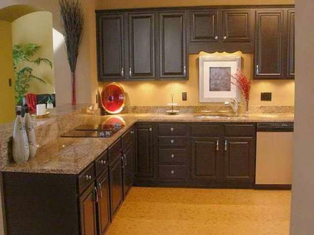 Best Wall Paint Colors Ideas For Kitchen Cabinet Painting