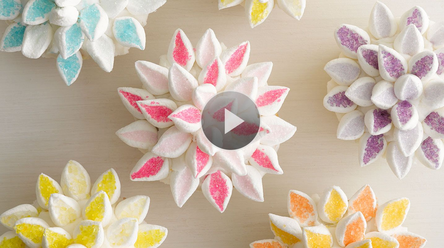 how to make a circlet of flowers