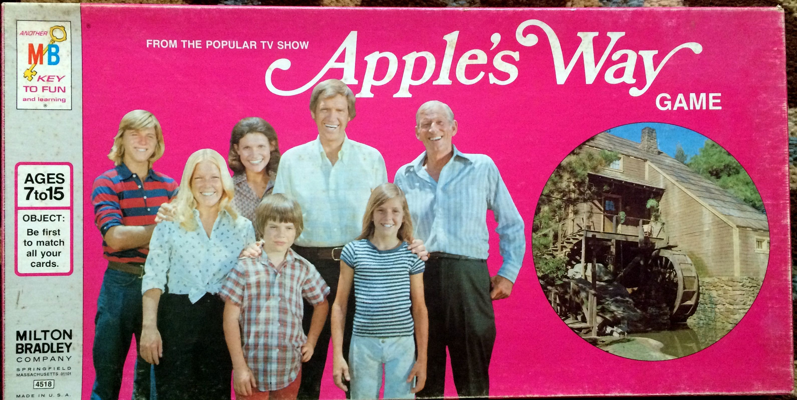 Spin Again Sunday Apple's Way (1974) (With images) Kids