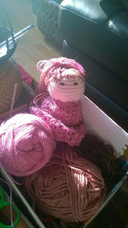 Poupée de laine