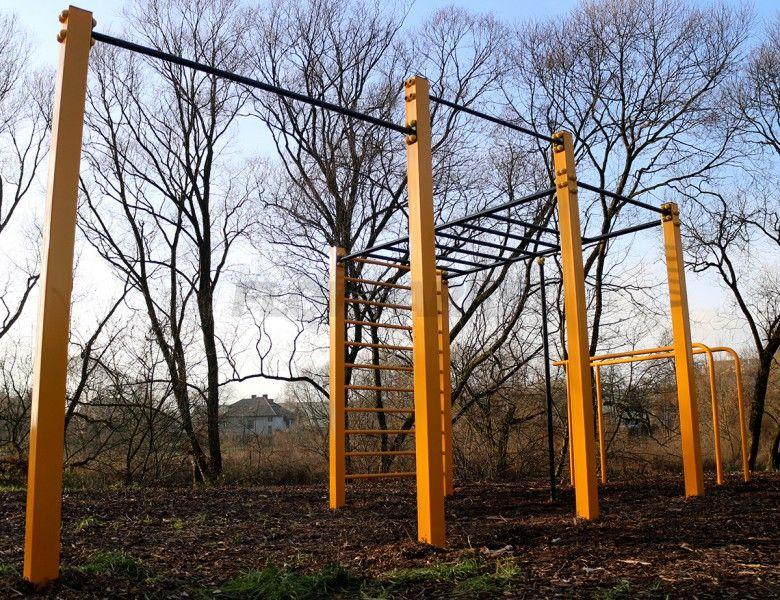 Street Workout Park Skawina - Parkour Park i Street Workout Park FlowParks. Innowacyjne obiekty dla osób aktywnych.