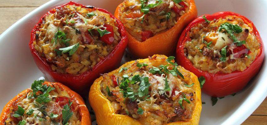 Gefüllte Paprika mit Hackfleisch Rezept