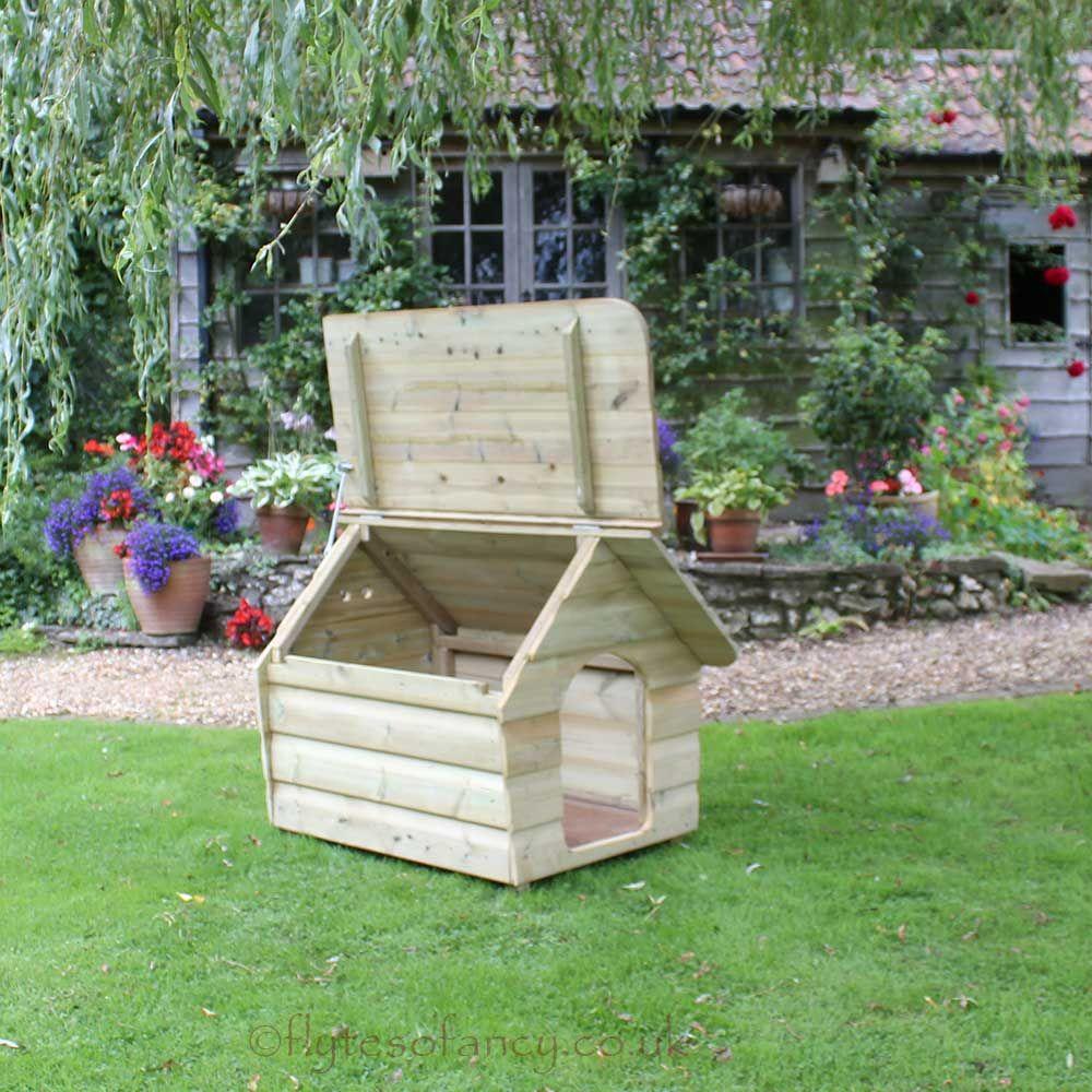 Buckland Dog Kennel Medium Pallet dog house, Cool dog
