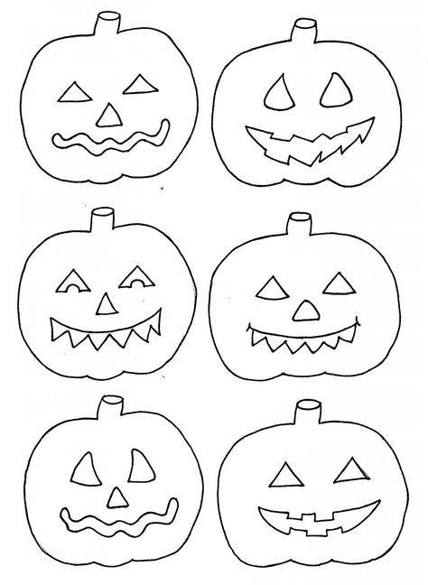 Xobbu Malvorlage #halloween #kürbis #basteln #vorlage #printable ...