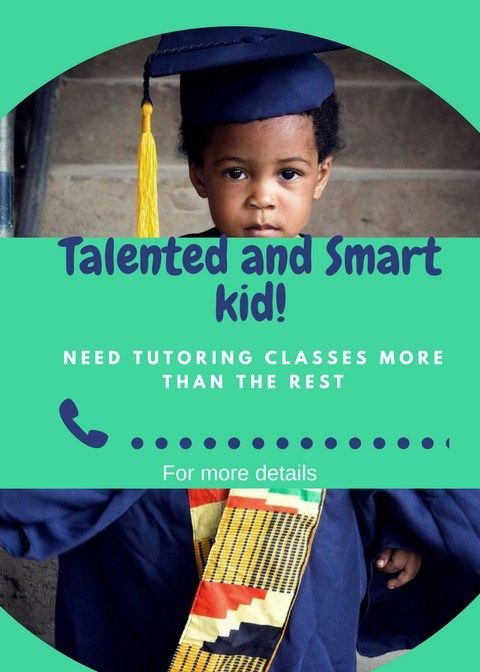 Alented And Smart Kid Green  Tuta    Tutoring