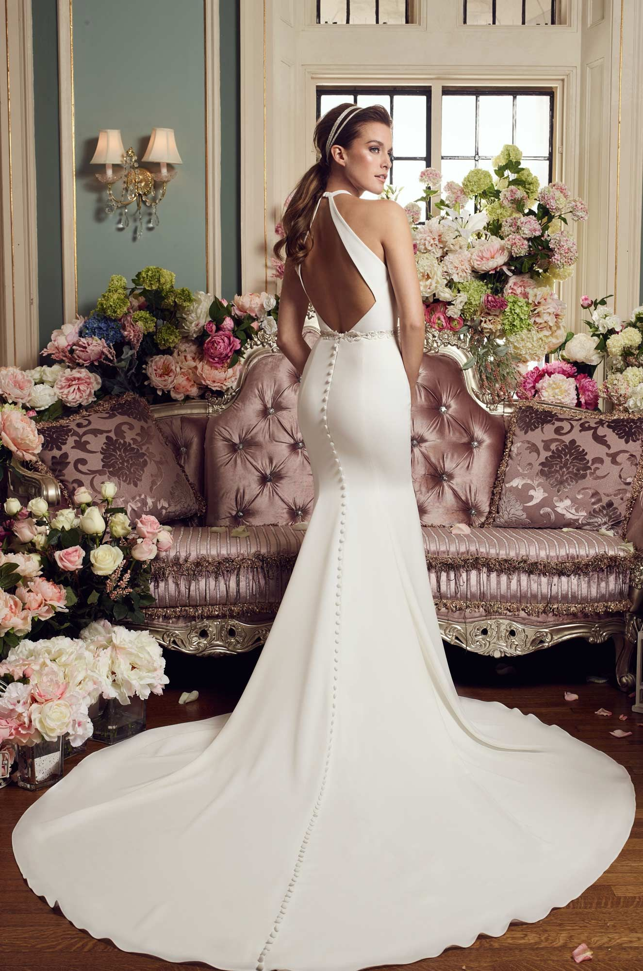 Halter Top Wedding Dress Style 2150 Wedding Dresses Top