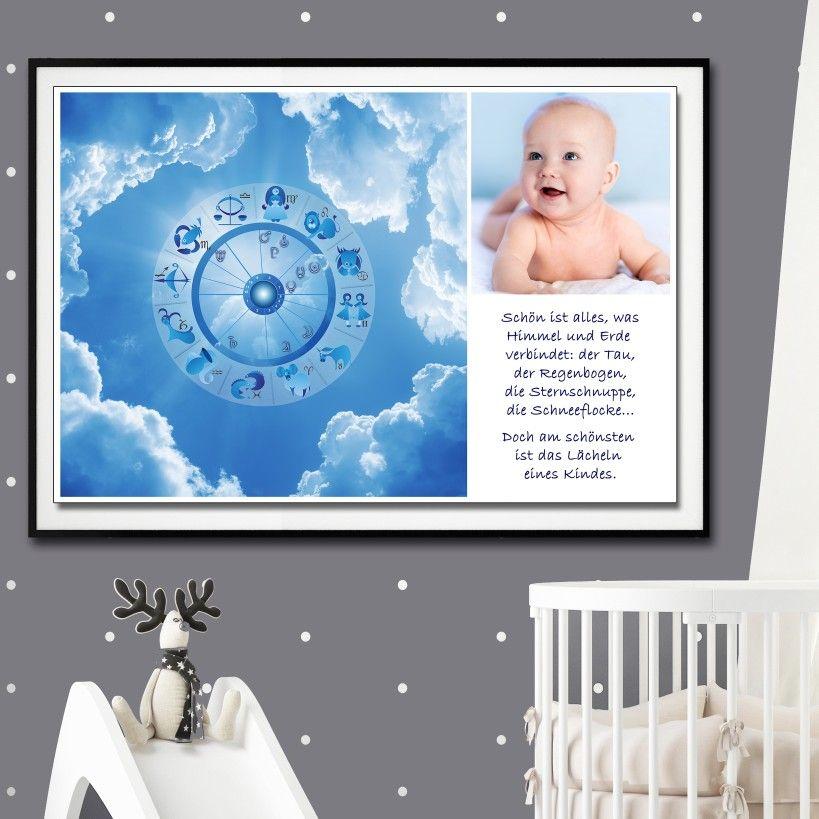 Sternenkonstellation Geburt Bild